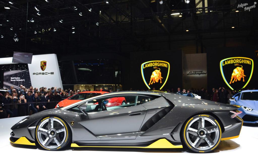 Premiera Lamborghini Centenario LP770-4 - najciekawsze premiery motoryzaycjne tylko o super-samochodach.