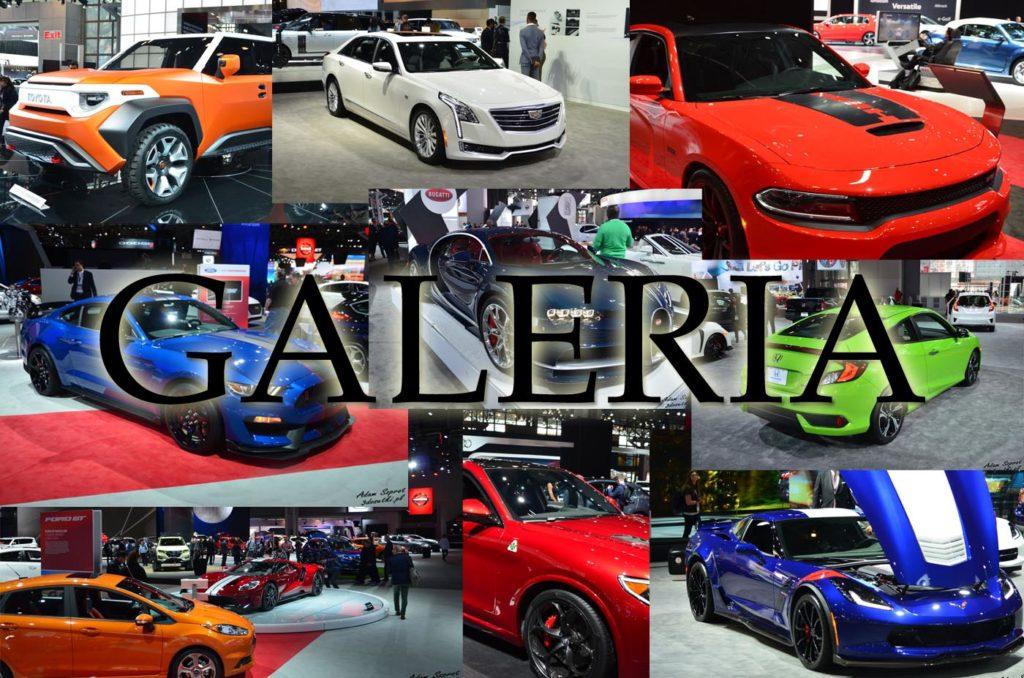 Galerai z targów New York Auto Show 2017