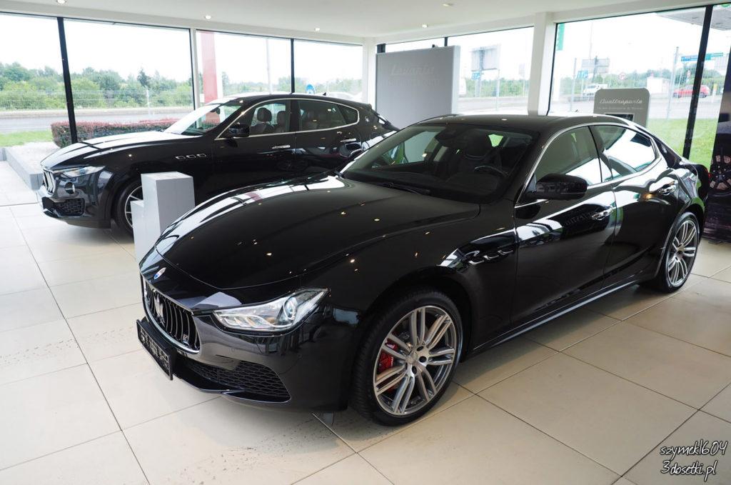 Salon samochodowy Maserati Pietrzak, testy aut, blog o samochodach