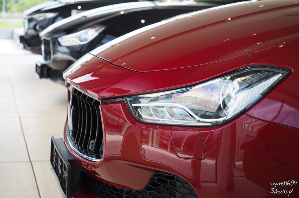 Salon samochodowy Maserati Pietrzak, blog motoryzacyjny
