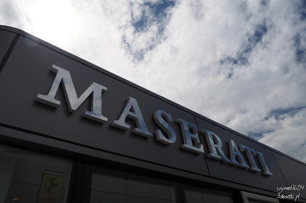 Maserati - logo salonu, blog motoryzacyjny