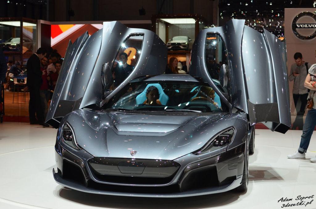 Rimac C_Two - premiera motoryzacyjna na stronie o super-samochodach