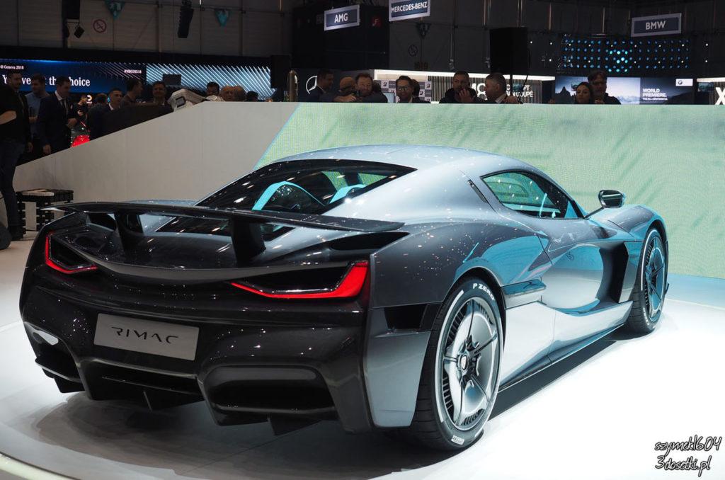Rimac C_Two, premiery motoryzacyjne, opisy super-samochodów