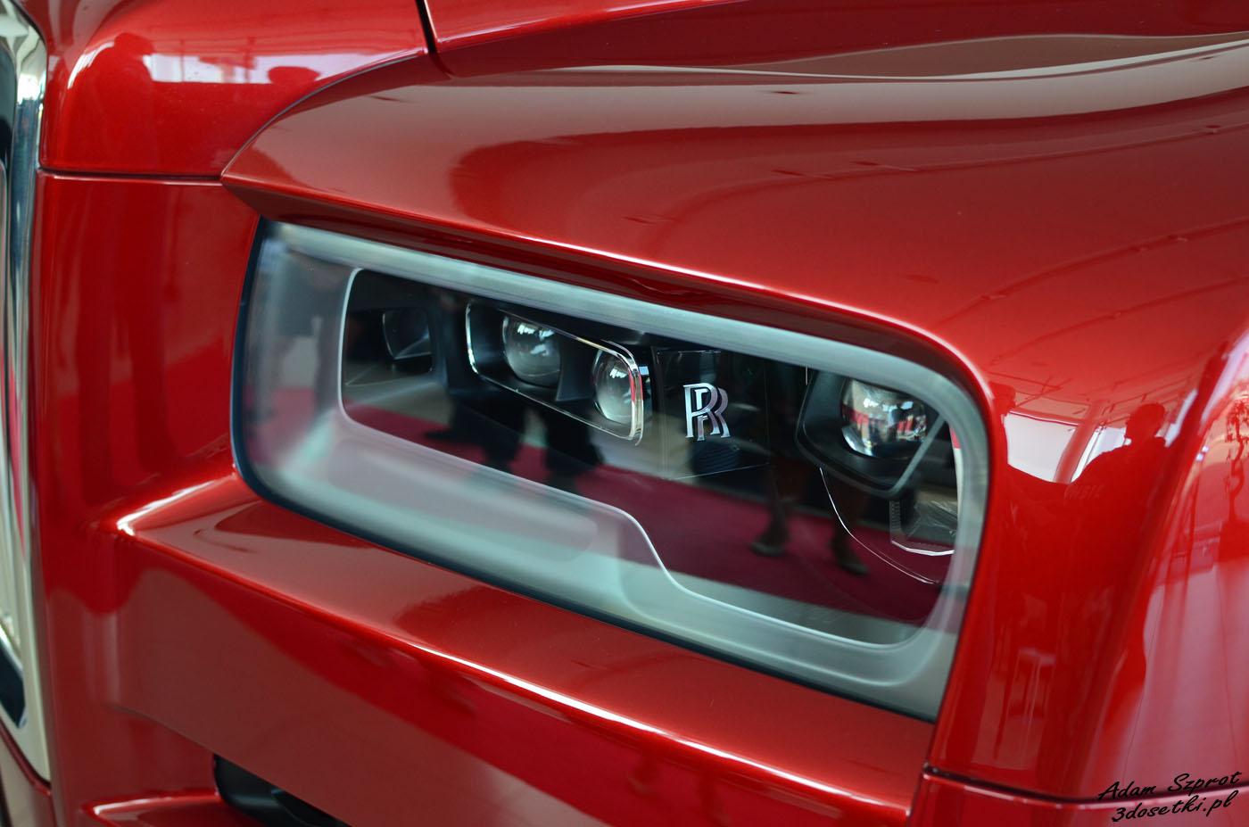 Polska premiera Rolls-Royce Cullinan - piękne szczegóły
