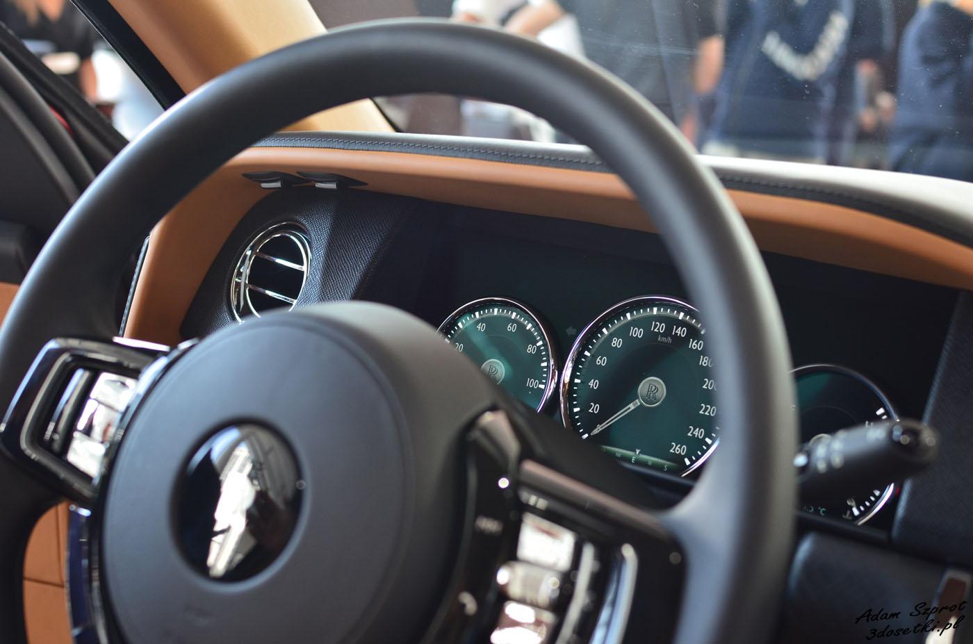 Polska premiera Rolls-Royce Cullinan, blog motoryzacyjny, serwis o samochodach