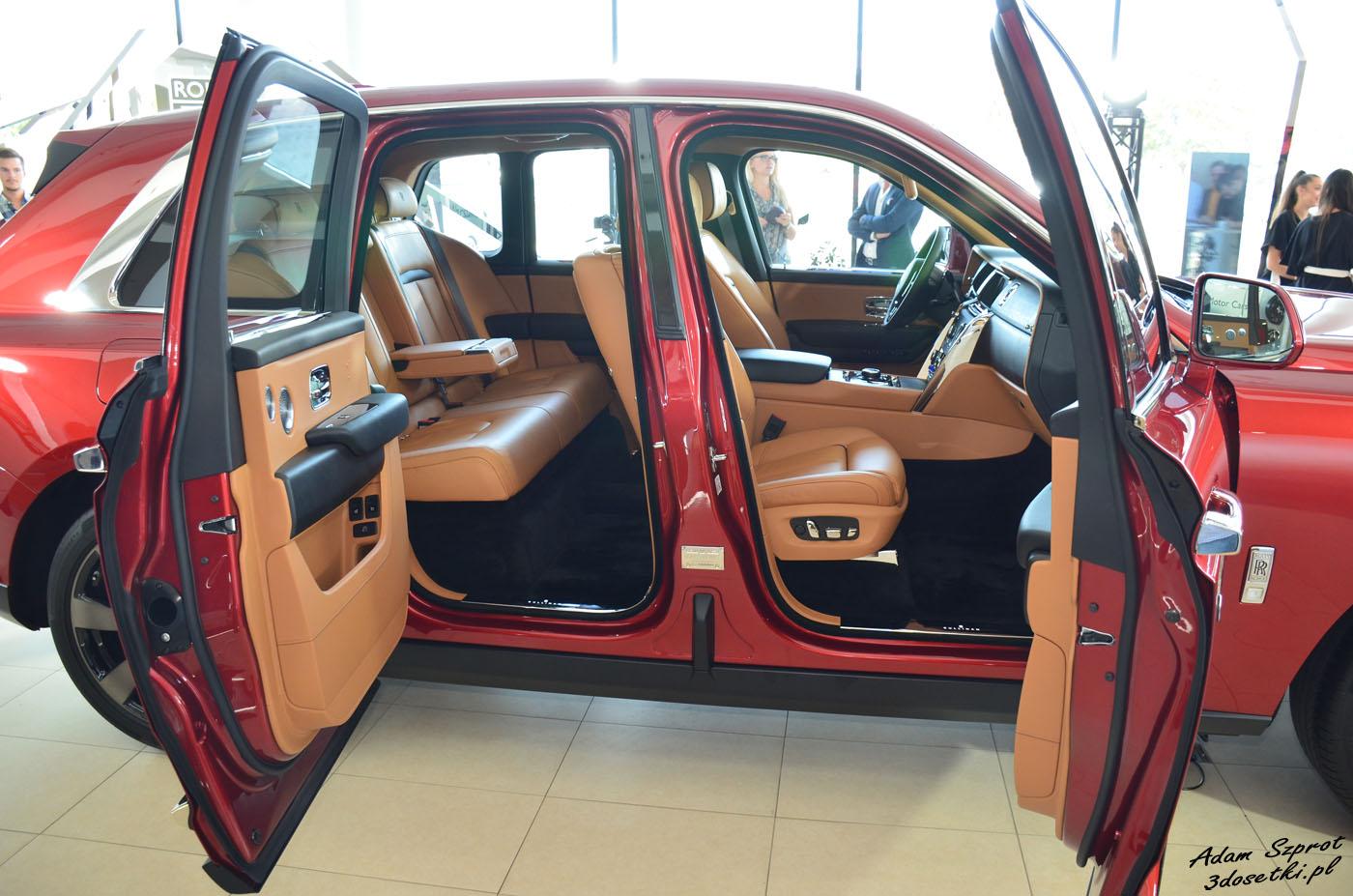 Polska premiera Rolls-Royce Cullinan - otwarte drzwi - strona motryzacyjna
