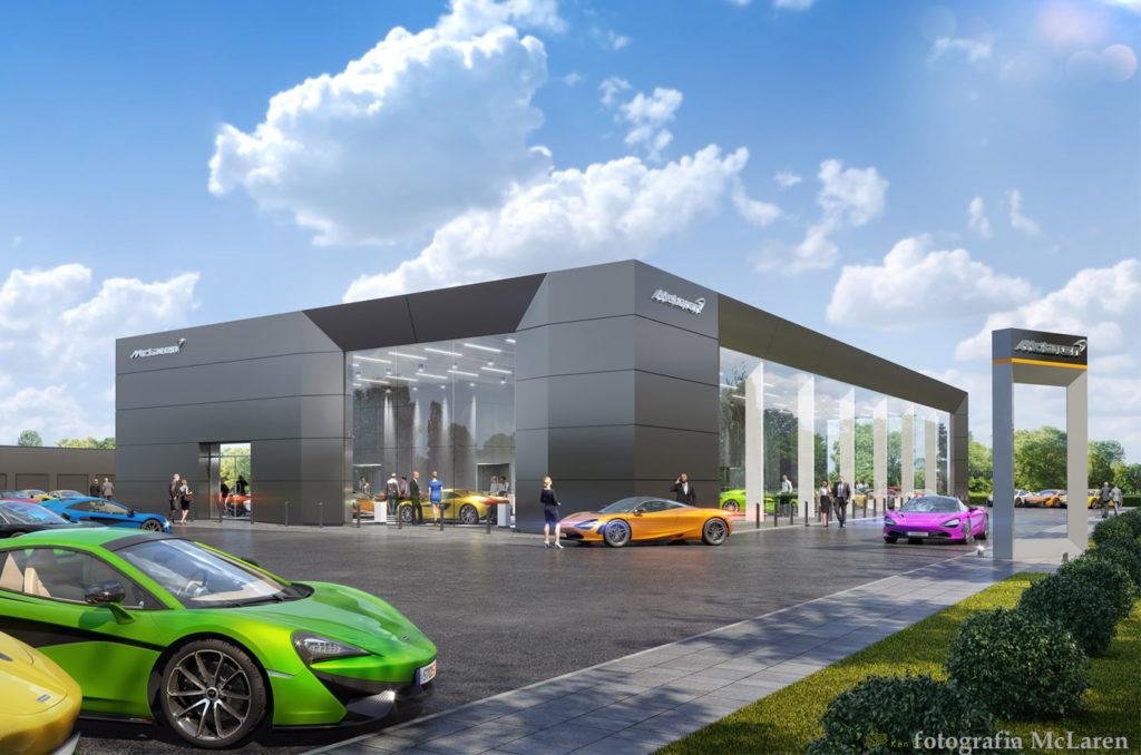 Pierwszy salon McLaren w Polsce