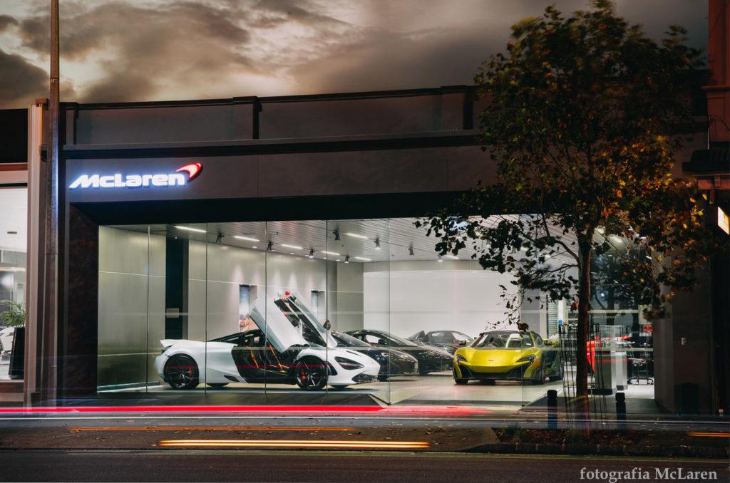 Pierwszy salon McLaren w Polsce, otwarty w 2018 w Warszawie