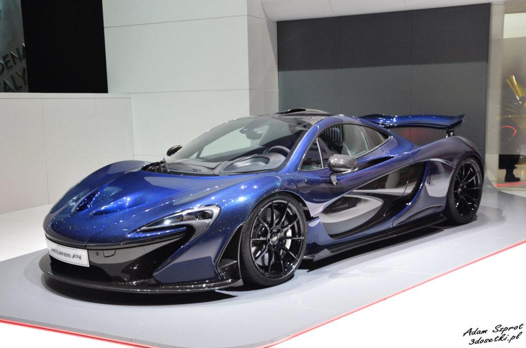 McLaren P1 - niestety już wszystkie modele wysprzedane, nie będzie go w salonie McLarena Warszawa
