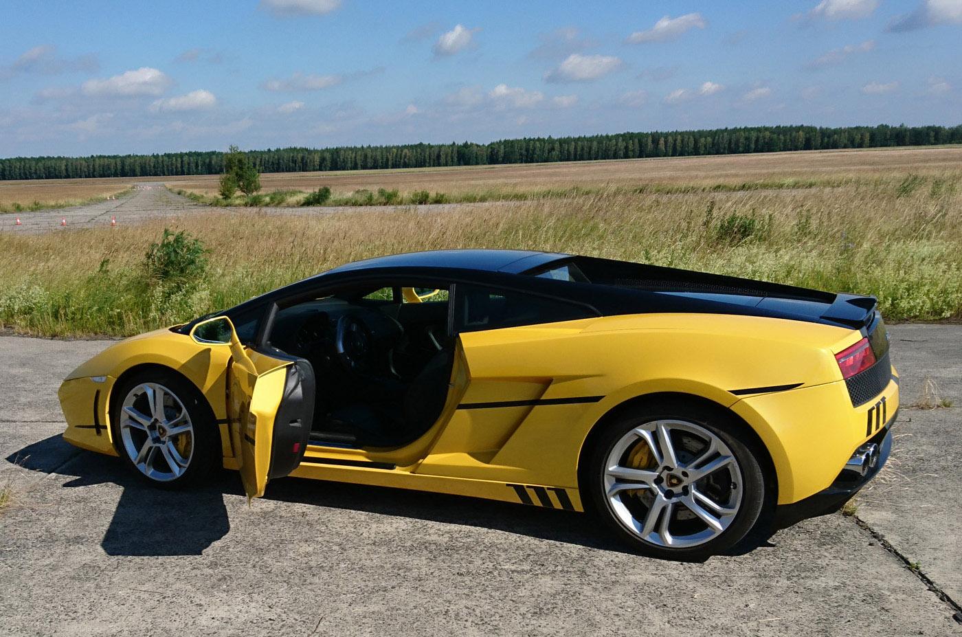 Przejażdżka po mieście Lamborghini Gallardo jako głowna nagroda w Konkursie