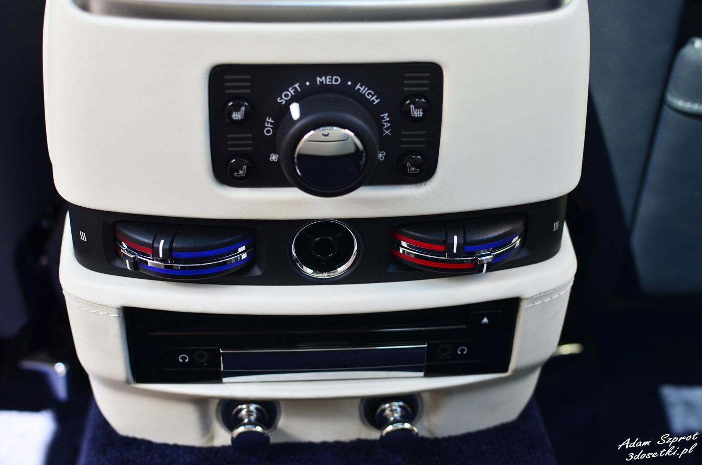 Klimatyzacja w Rolls-Royce Ghost EWB