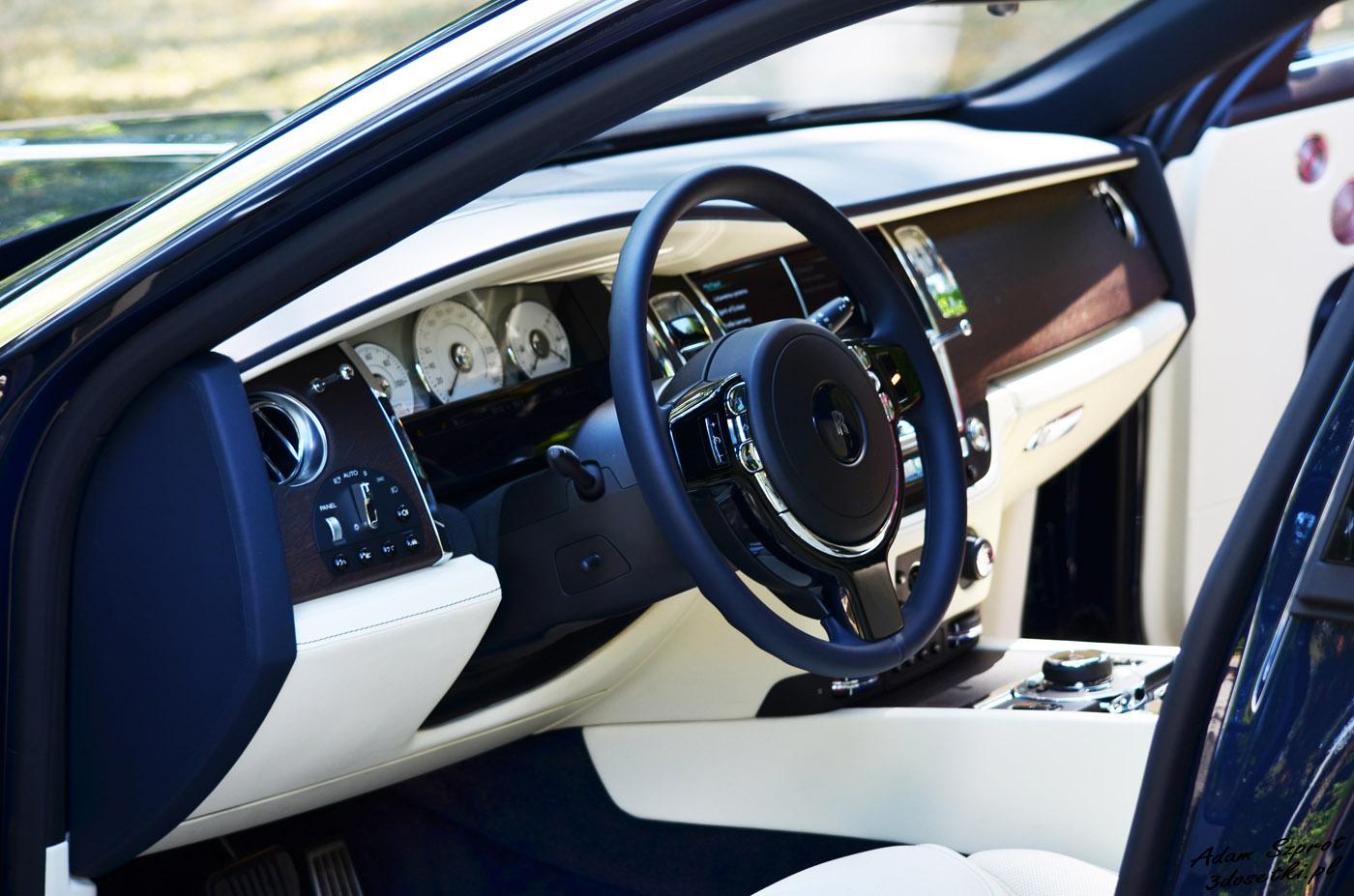 Test samochodu Rolls-Royce Ghost EWB, strona motoryzacyjna
