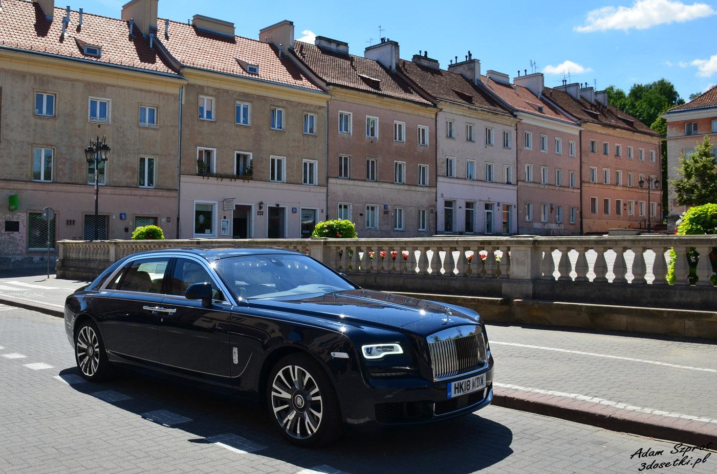 Test samochodu Rolls-Royce Ghost EWB