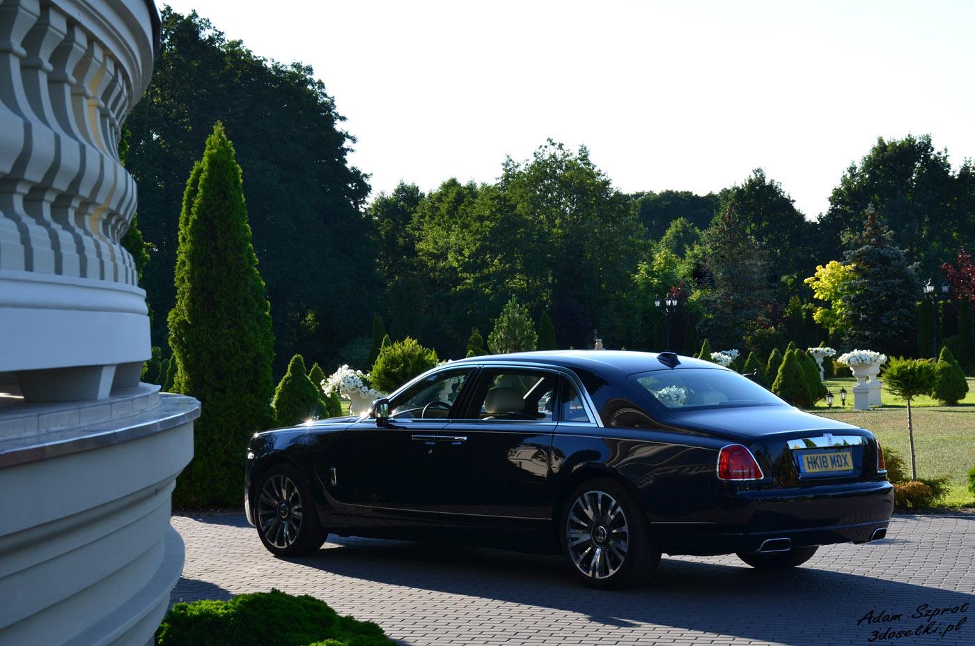 Rolls-Royce Ghost EWB - testy samochodów