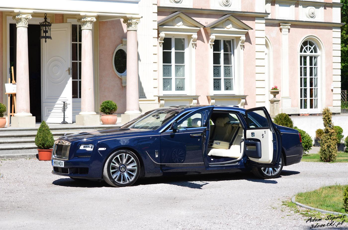 Test samochodu - Rolls-Royce Ghost EWB