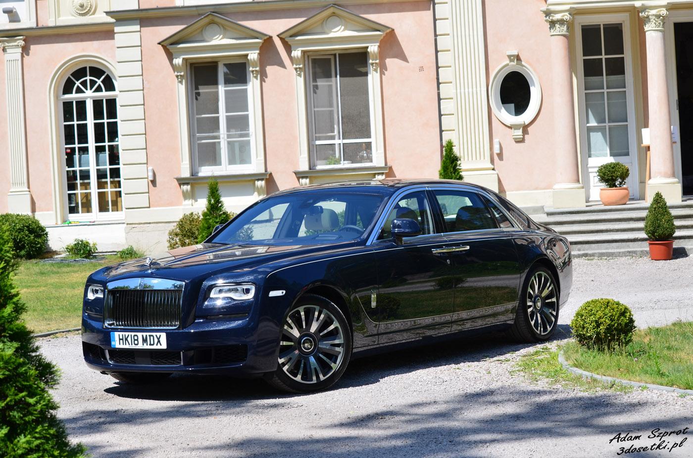 Test luksusowej limuzyny Rolls-Royce Ghost EWB