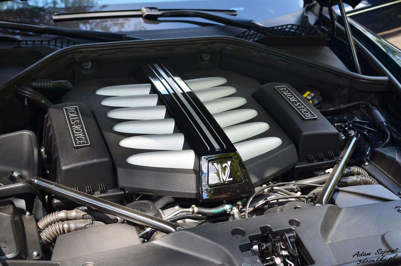 Silnik 6,6l V12 - Rolls-Royce Ghost EWB