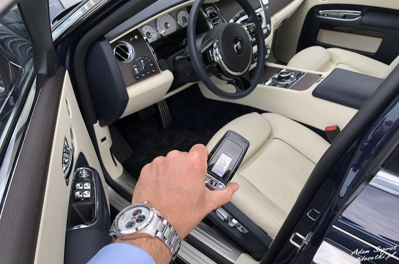 Kluczyk do samochodu Rolls-Royce Ghost EWB