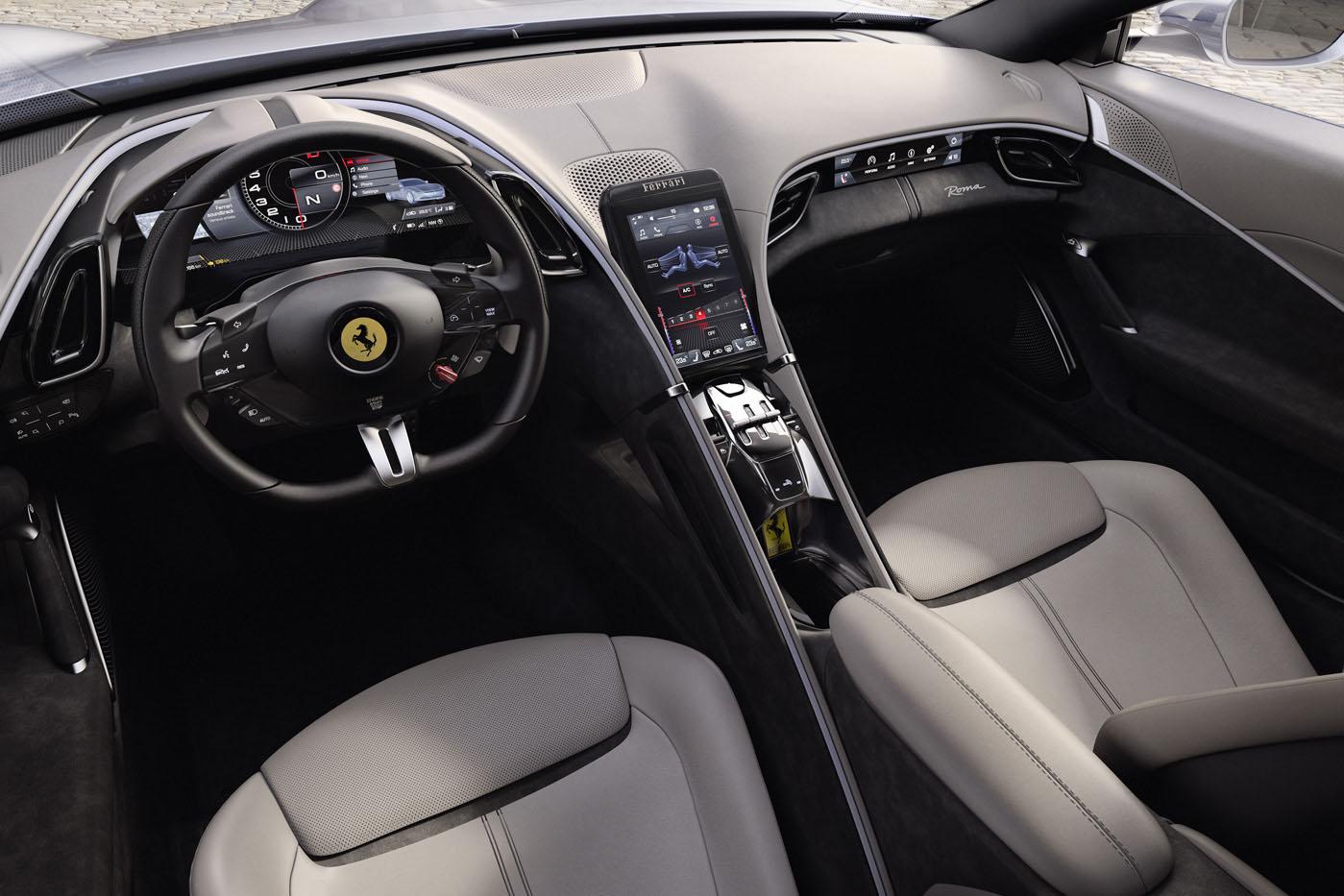 Ferrari Roma premiera