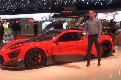 Zenvo TSR-S – zobacz dlaczego to auto jest warte grzechu