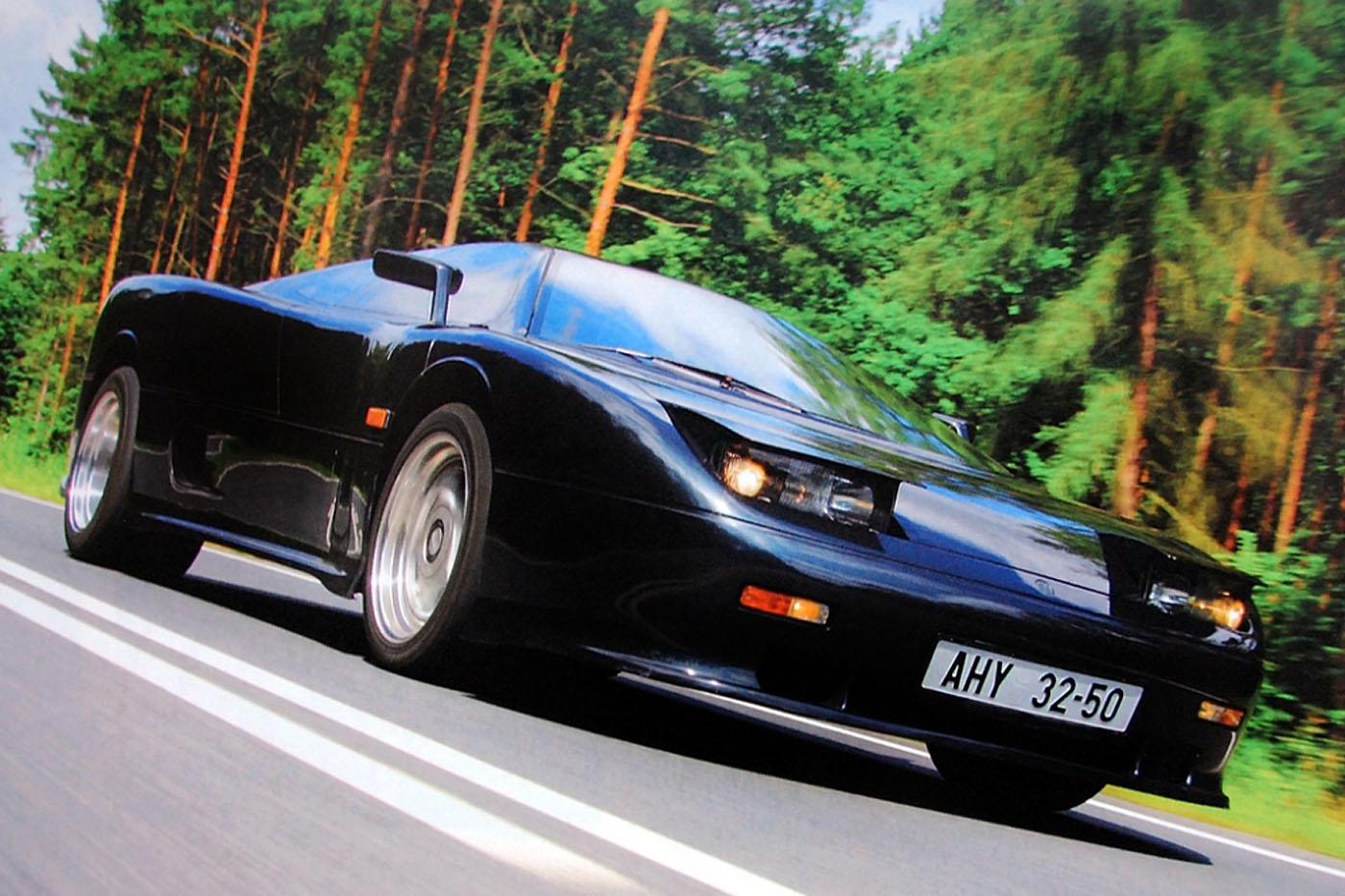 Tatra Mtx V8 Czarna