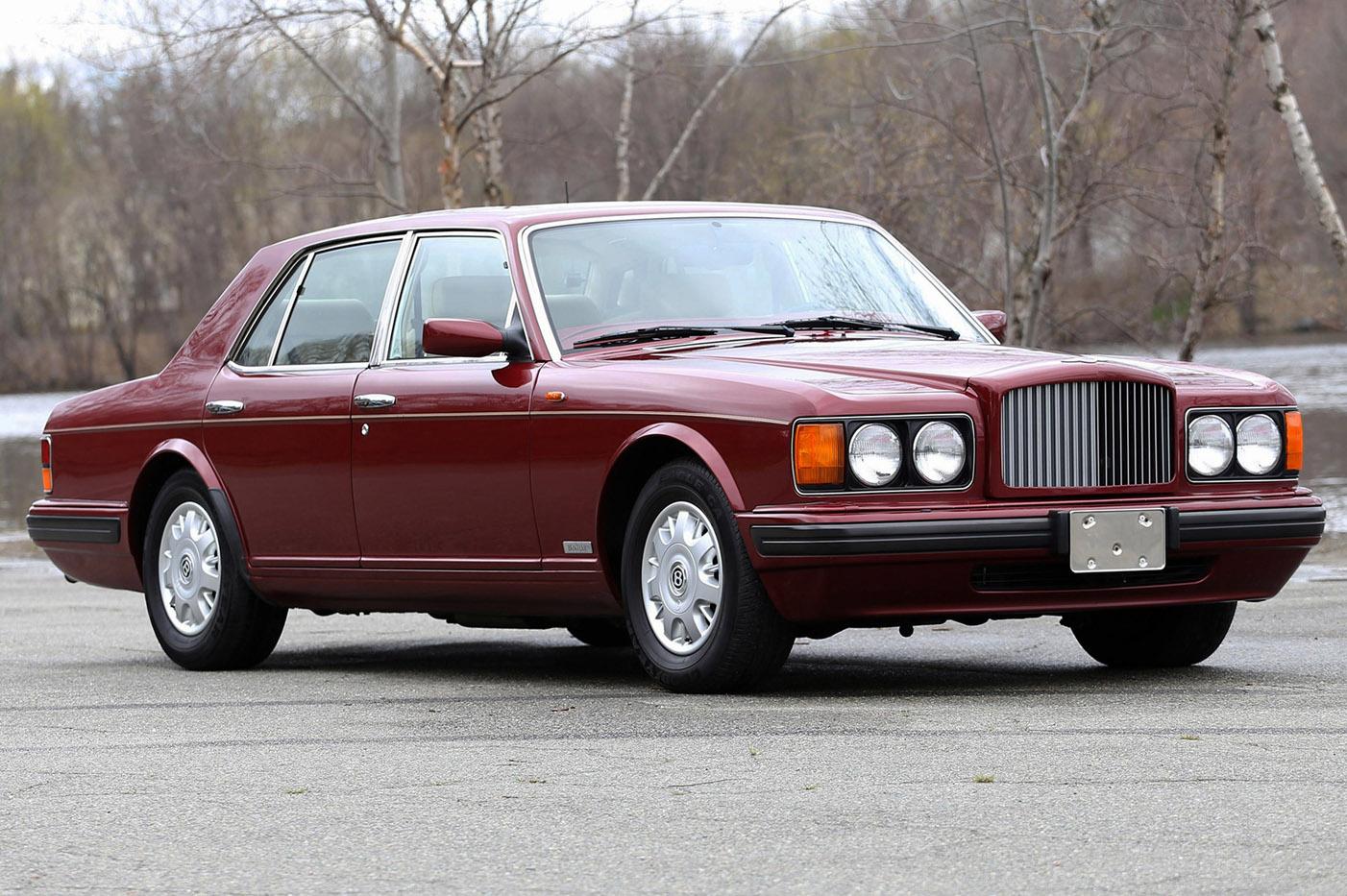 Historia Bentleya - Bentley Brooklands 1992