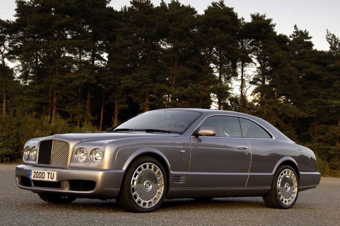 Historia Bentleya - Brooklands Coupe