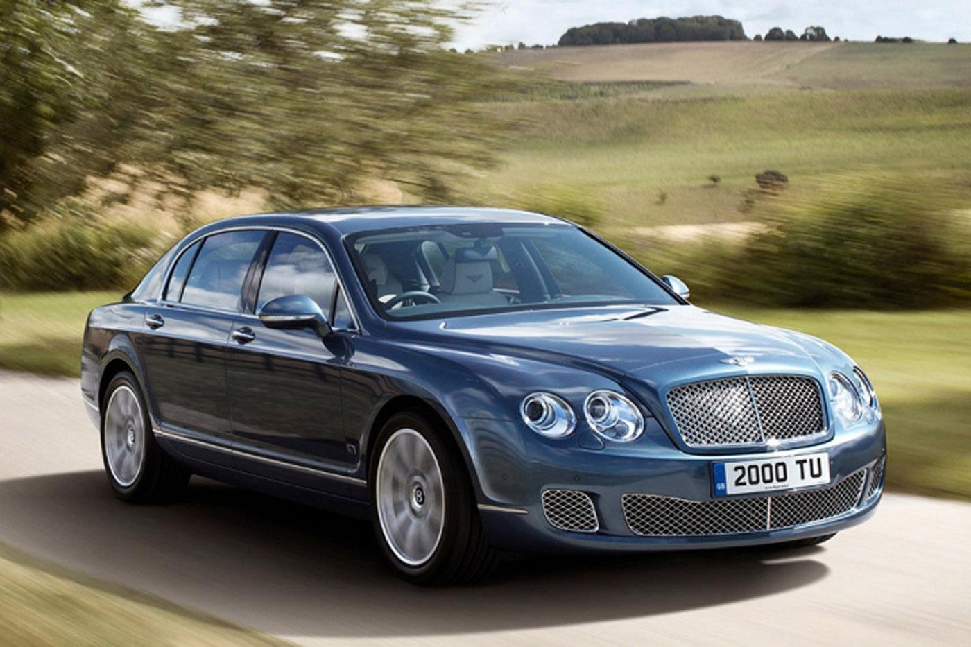 Historia Bentleya - Bentley Flying Spur