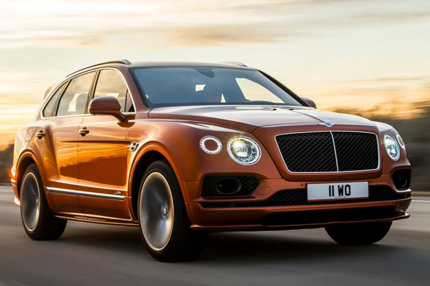 Historia Bentleya - Bentley Bentayga