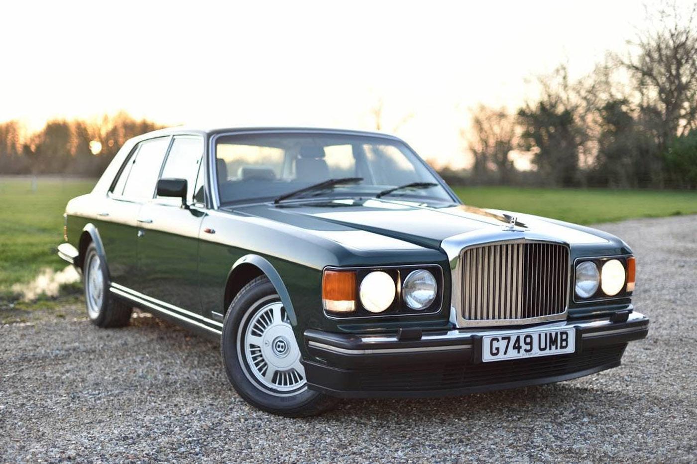 Historia Bentleya - Bentley Mulsane