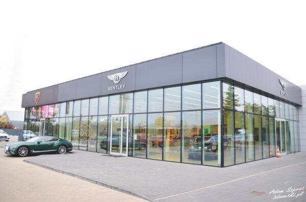 Z wizytą w Bentley Warszawa
