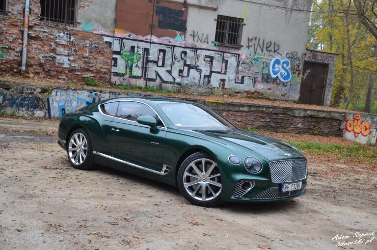Bentley Continental GT W12 – nieprzyzwoicie luksusowe coupe