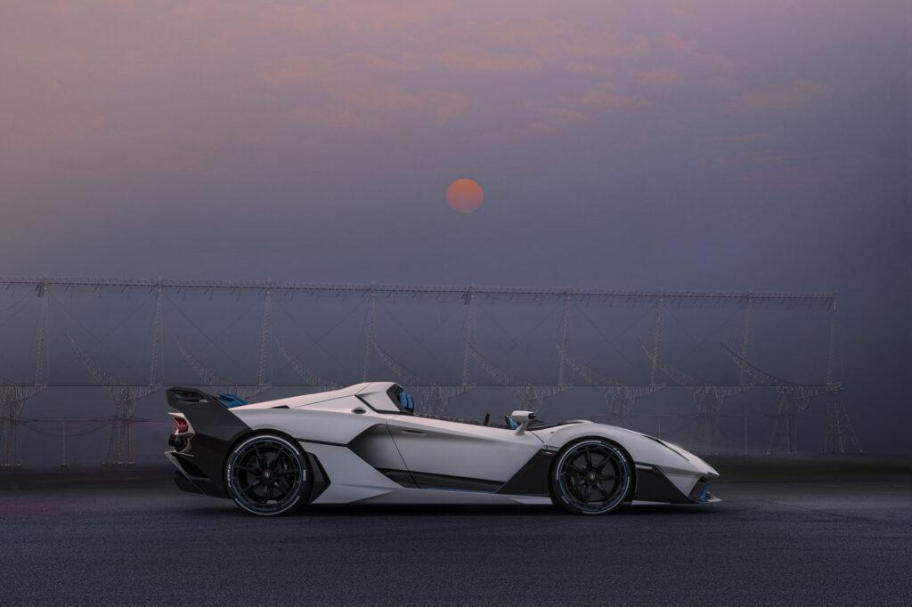 Lamborghini SC20 profil