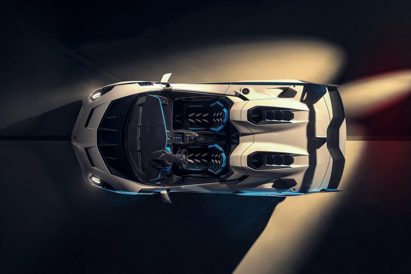 Lamborghini SC20 z góry