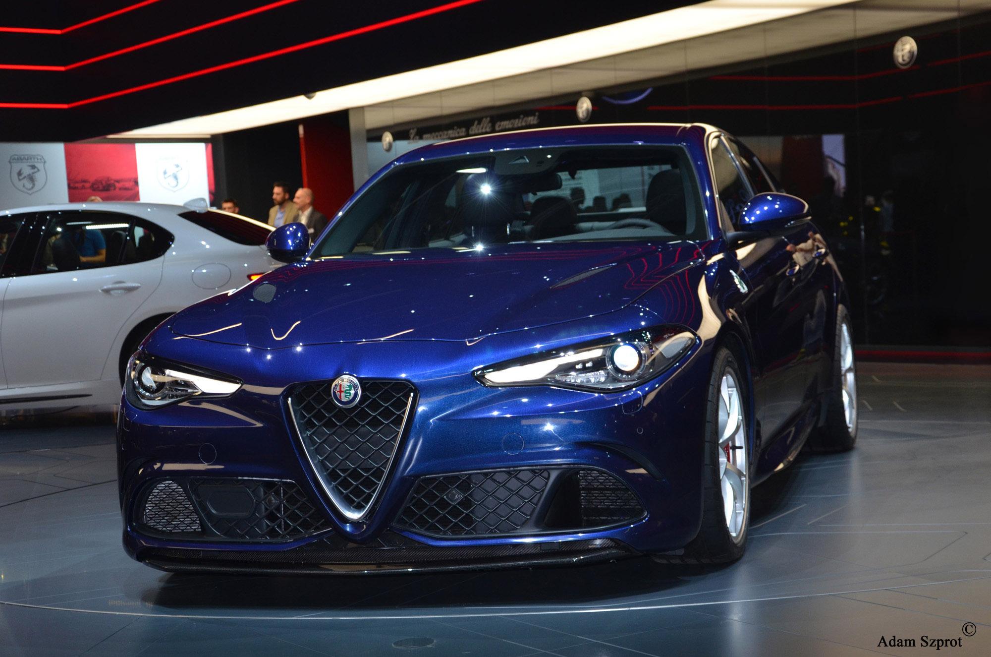 Alfa Romeo Giulia premiera 3dosetki