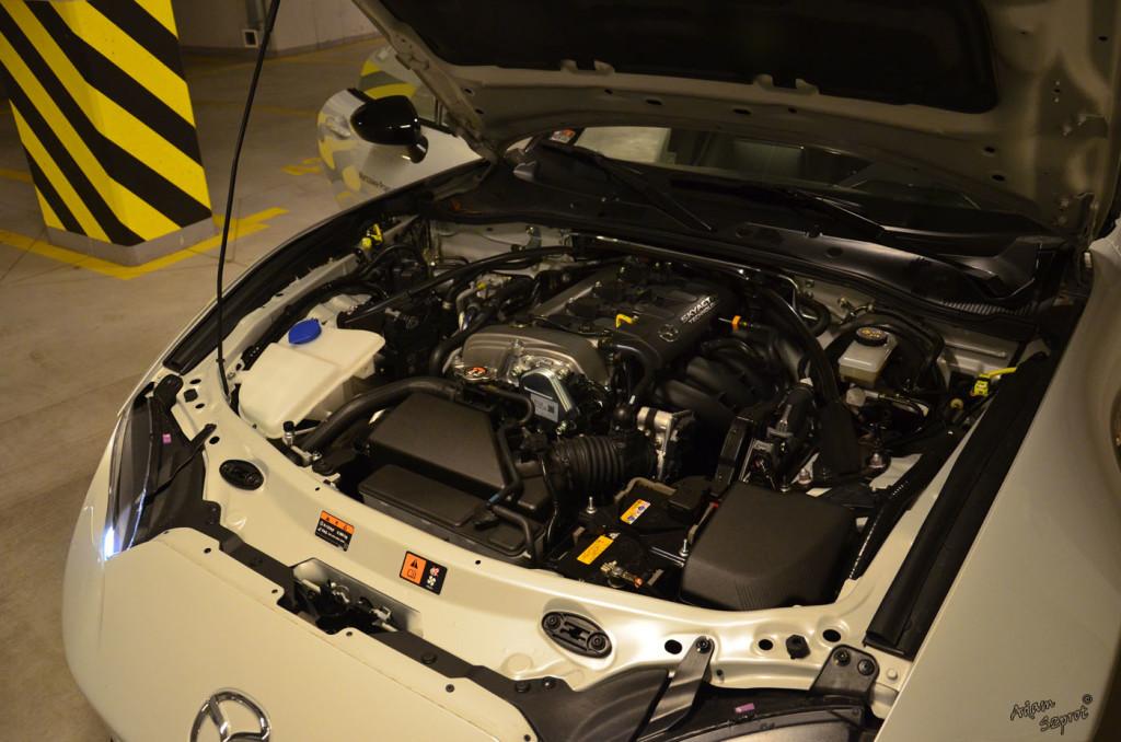 Mazda MX-5 - silnik - 3dosetki.pl - ciekawa strona o motoryzacji