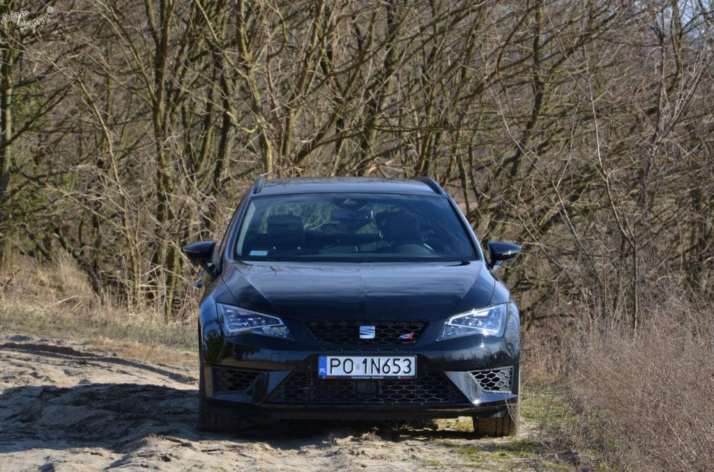 Test samochodu Seat Leon Cupra ST na witrynie motoryzacyjnej, blog motoryzaycjny, test aut samochodów