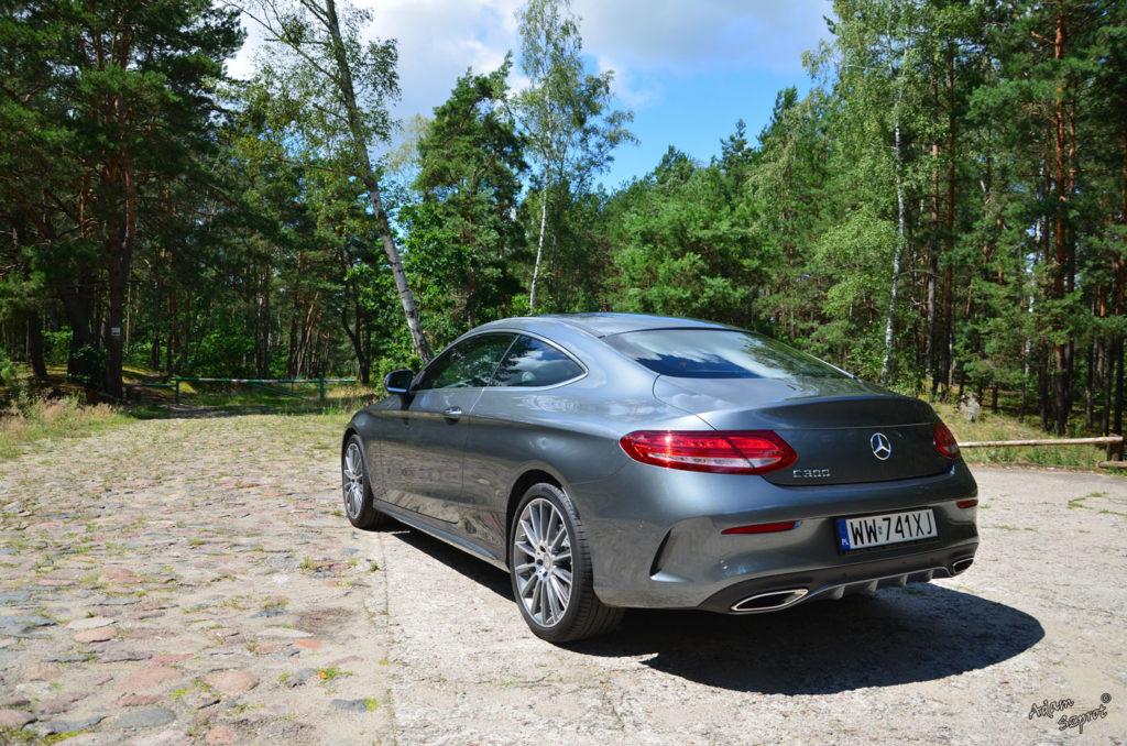 Mercedes C Coupe, test mercedesa, blog motoryzacyjny, serwis o samochodach, auta, serwis, portal motoryzacyjny.