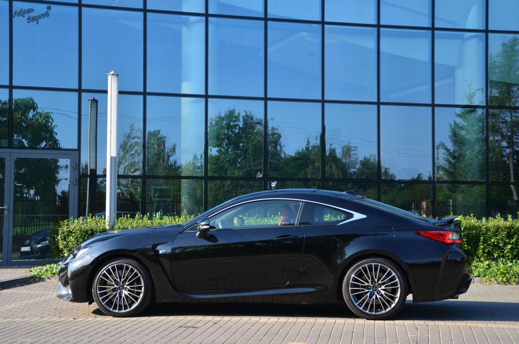 Lexus RC F - test wyjątkowego samochodu na witrynie / blogu motoryzacyjnym 3dosetki.pl