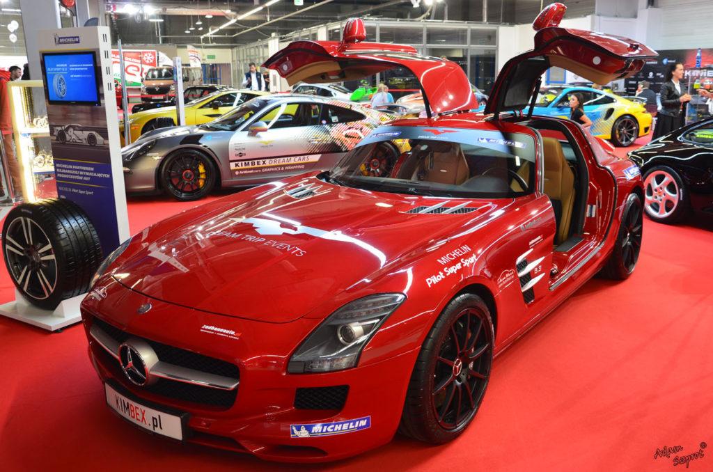 Warsaw Moto Show 2016 - Mercedes SLS, blog motoryzacyjny, portal o samochodach