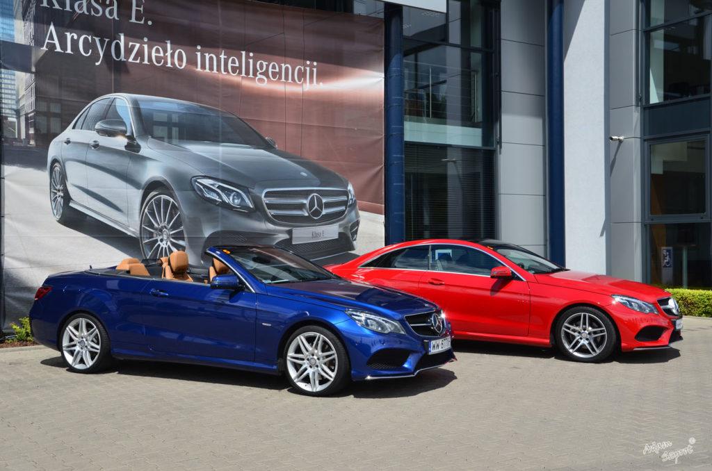 Mercedes-Benz E 250 Coupe / E 400 Kabriolet - testy samochodów na innej stronie o motoryzacji, blog motoryzacyjny