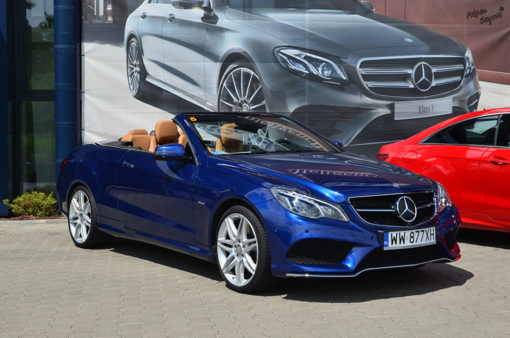Mercedes-Benz E 250 Coupe / E 400 Kabriolet - testy samochodów, targi motoryzacyjne, blog o samochodach, blogosfera, strona motoryzacyjna
