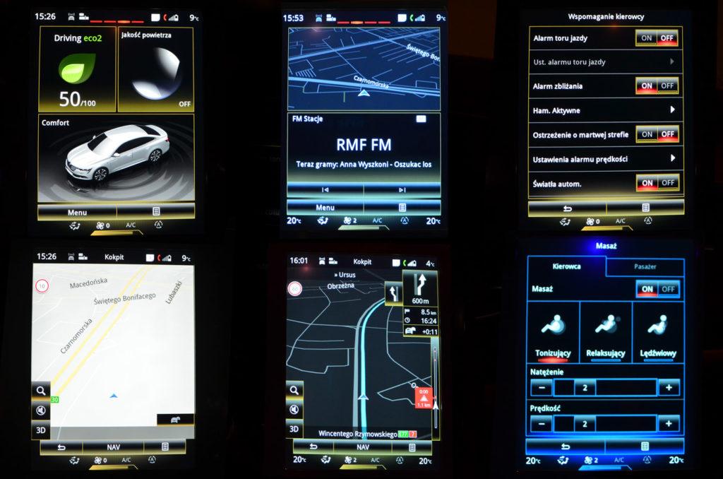 Multimedia Renualt Talisman, Renault Talisman Initiale Paris 200 TCe, blog motoryzacyjny, strona o samochodach, testy samochodów, motoryzacyja, strona o samochodach