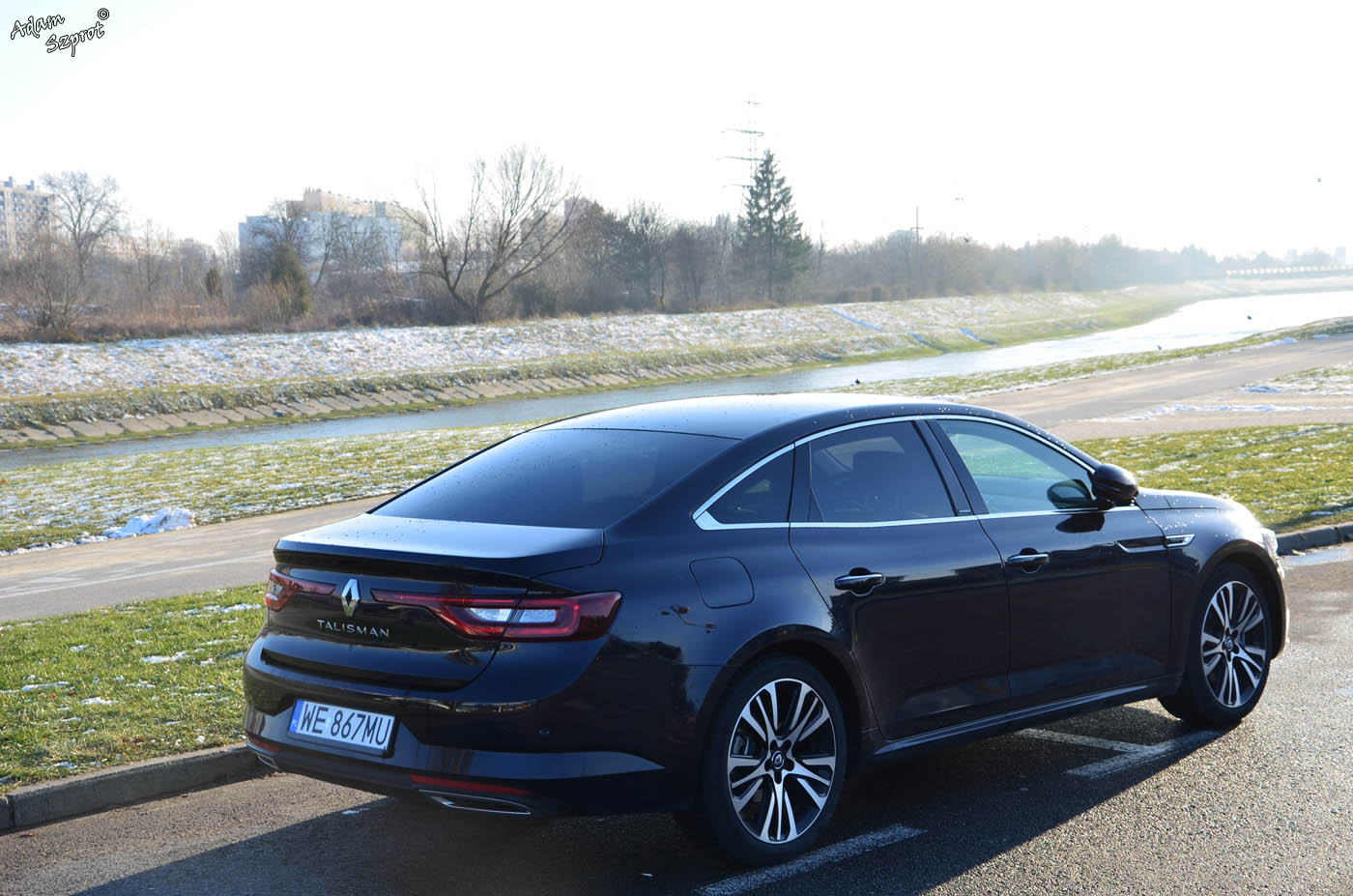 Renault Talisman Tyl B Test Samochodu 3dosetki Pl 4