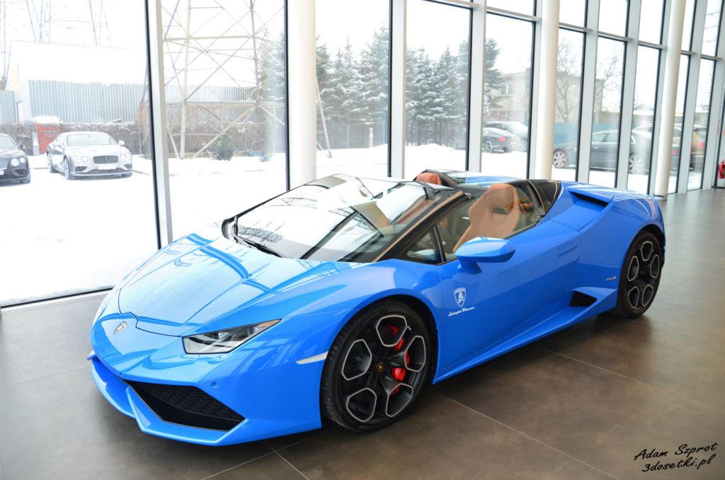Wizyta Lamborghini Warszawa - strona motoryzacyjny, blog motoryzacyjny, strona o motoryzacji, Lamborghini Huracan, Aventador