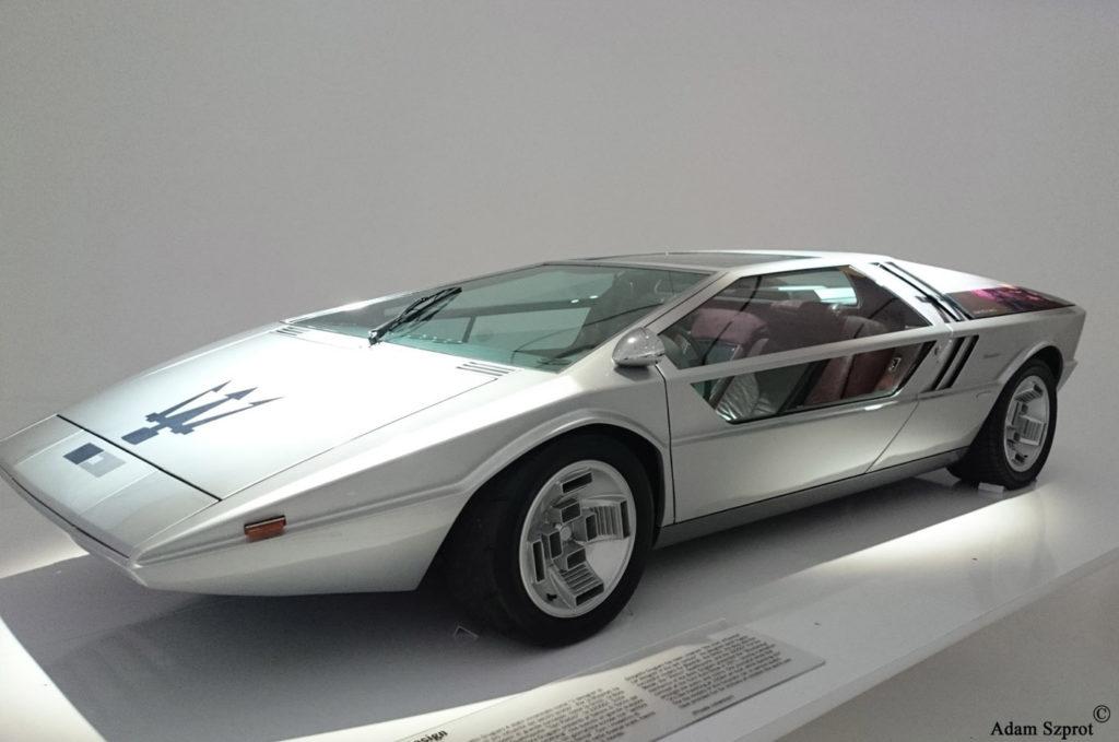 Maserati Boomerang Italidesign - blog / strona motoryzacyjna