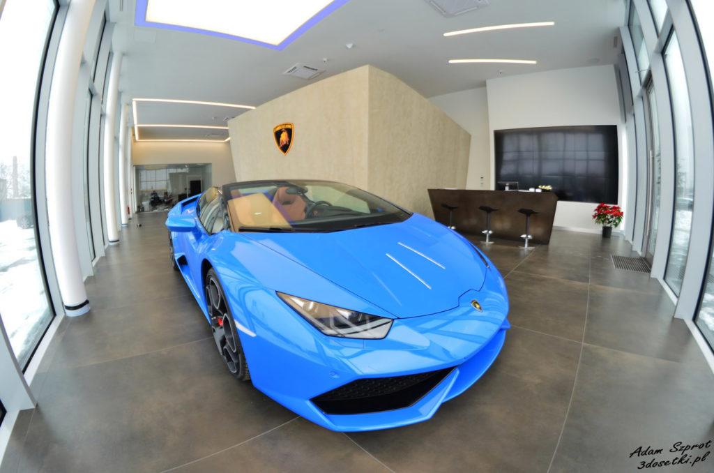 Wizyta w salonie Lamborghini w Warszawie