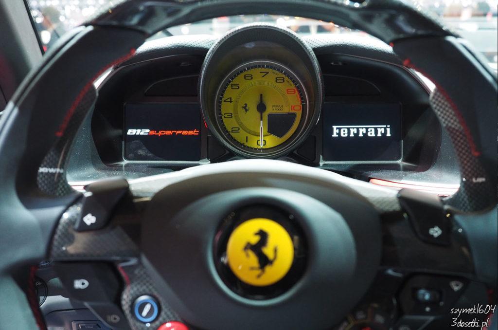 Ferrari 812 Superfast - premiera targów motoryzacyjnych Geneva Motor Show, strona o samochodach