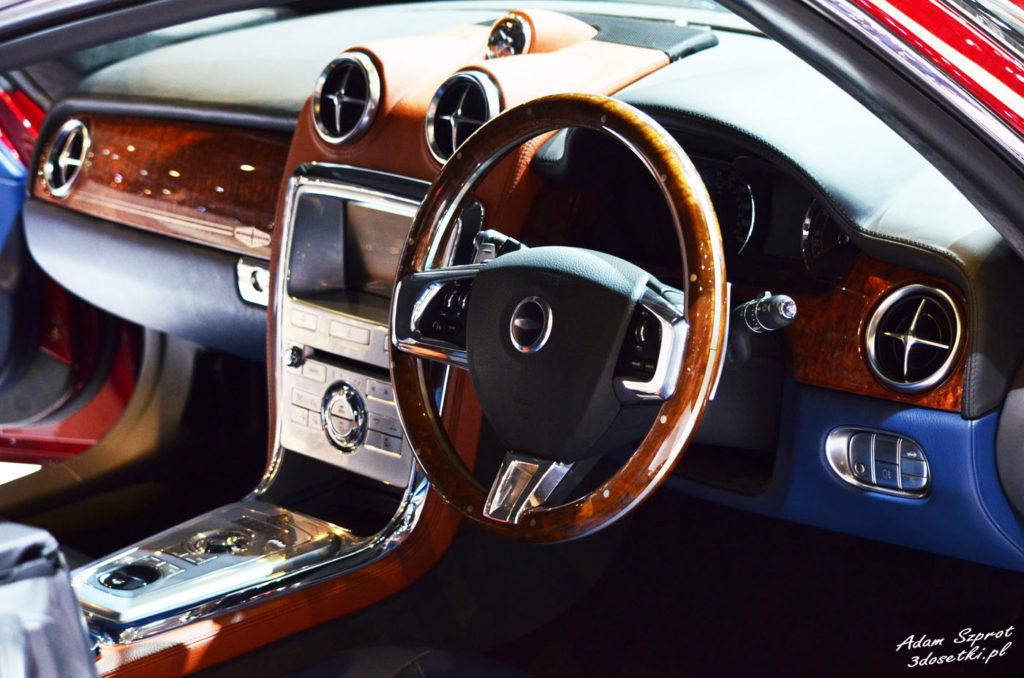 Targi samochodowe w Genewie - premiera Dawid Brown Speedback GT, blog motoryzacyjny