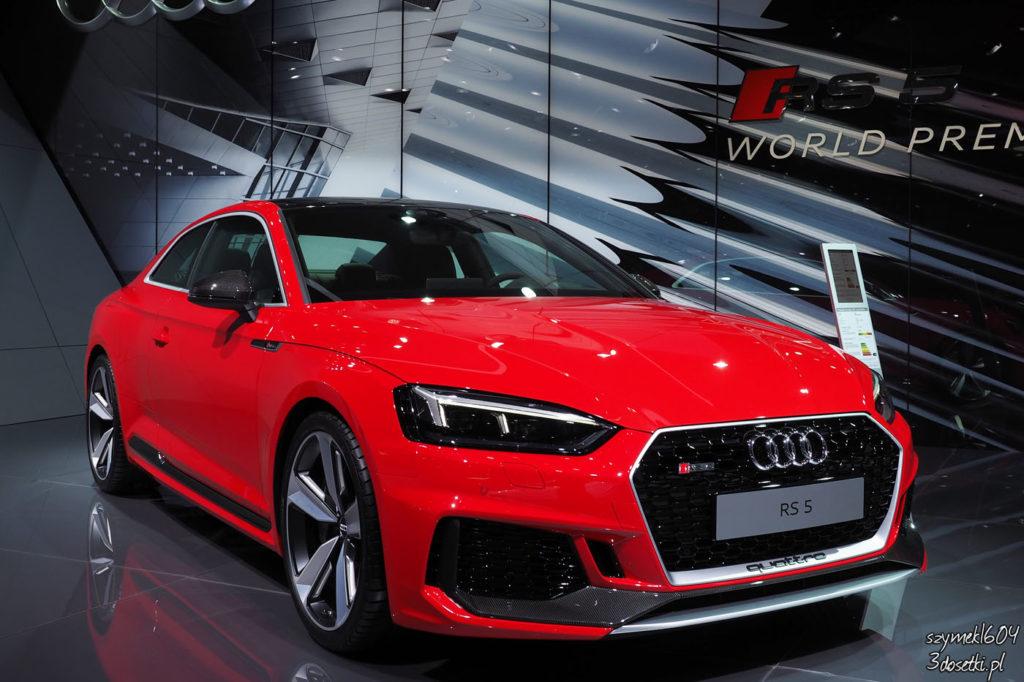 Targi samochodowe Geneva Motor Show 2017 - Audi RS5 Coupe